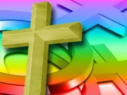 cross and gender symbols