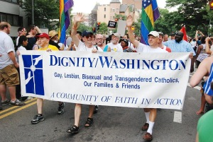 Dignity/Washington's contingent in the Capital Pride Parade