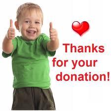 donations thanks