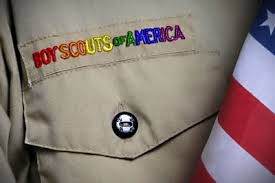 Boy Scouts name rainbow