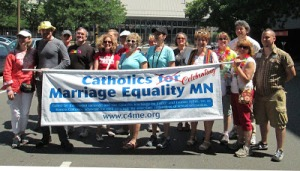 Catholics CELEBRATING Marriage Equality in the Twin Cities.