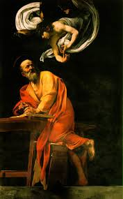 "Caravaggio's ""St. Matthew and the Angel"""