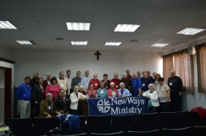 Archbishop Elias Chacour of the Galilee with New Ways Ministry pilgrims and staff