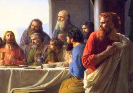 judas - last supper