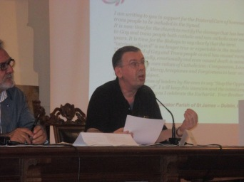 "James Alison at the Rome conference, ""Ways of Love"""