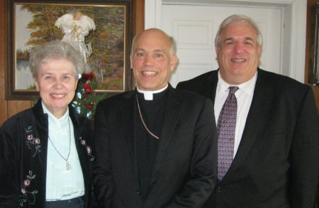 Sister Jeannine Gramick, Archbishop Salvatore Cordileone, Francis DeBernardo at New Ways Ministry