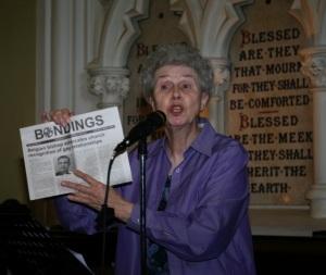Sr. Jeannine Gramick speaking for equality in Ireland